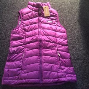 Patagonia Purple down vest
